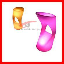 LED bar stool/light chair,High Quality Luxury Led round Stools