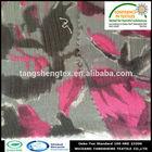 2014 new popular 100 Recycled polyester crepe /crinkle chiffon fabric/pure chiffon fabric