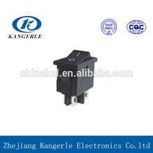 Micro rocker switch 16a 250v t125 ball tilt switch LED light bar rocker switch