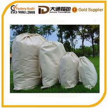 cotton canvas drawstring bag