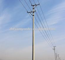 Circular concrete pole