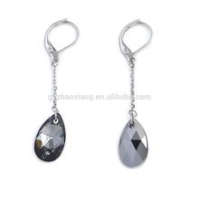 2014 new fashion unique design gemstone earring jewelry GEO006
