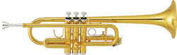 musical brass instruments from China c key children trumpet with cheap price