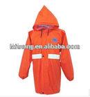 Environmental protection fluorescent waterproof jacket