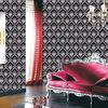 decorative pvc wallpaper for restaurant