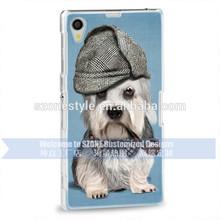 dog design animal phone cover for Sony z1& z2 case wholesale