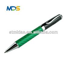 gift promotional Carbon Fiber pen for promotion, ballpoint pen, souvenir metal pen MDS-CF606