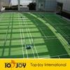 Plastic indoor bounceback volleyball flooring