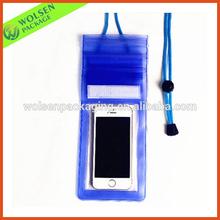 China customized PVC bag/ promotion PVC phone bag/ PVC waterproof zip lock bag
