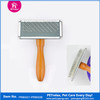 High Quality Wood Handle Dog Brush Pet Products PR80025