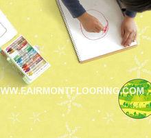 PVC Badminton Flooring / PVC Flooring for Sports, for Office in Tiles JX-02