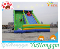 Giant Inflatable Climbing Wall ,Inflatable Jungle Slide Jumping Castle For Kids and Adults Family Playground