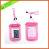 Transparent PVC bag/ Waterproof pvc mobile bag/ PVC waterproof bag for phone