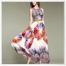 High end digital print silk fabric ,top quality chiffon