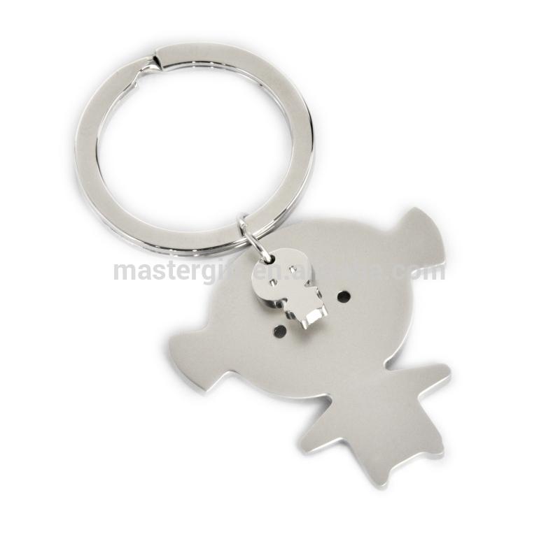 Romantic heart wedding & couples metal key holder, keyring, keychain, key ring