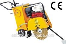 2015 hot sales CE Concrete gasoline powered floor saw machine with QF400 concrete cutter