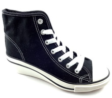 canvas class height increasing elevator shoes for men