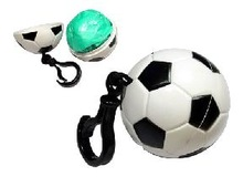 Football Design Plastic Rain Poncho Ball