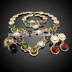 18k gold full jewelry set jewelry set fashion woman jewelry sets