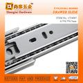 Ct4007 40mm blum cozinha de correr de alumínio gavetas mesa de abrir e fechar o guarda-roupa da gaveta telescopicas trilhos