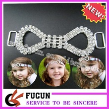 Dazzling crystal swimsuit connectors jewelry silver crystal stone