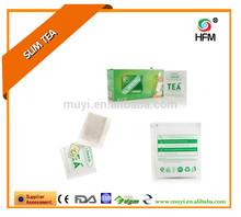 Natural green tea bag effect loss weight product natural health body slim tea