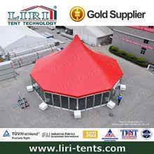 Aluminum frame fire retardant yurt tent for sale