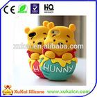 honey bear silicone case of phone