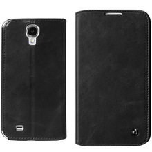 Qialino newest Genuine leather mobile phone case for samsung galaxy S4 i9500,cell phone case