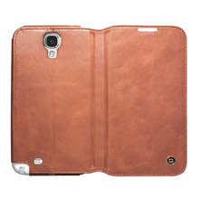 100% hand made leather case for samsung galaxy S4 i9500,hot selling case for Samsung