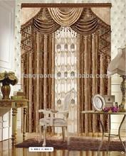 Custom window drapes burnout silk velvet fabric