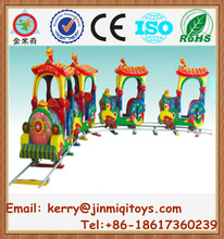 High quality children electric train, electric mini train, mini train with track JMQ-P180A