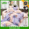 hand embroidery bed sheet/fuchsia bedding set/print comforter