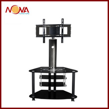 modern glass LCD TV stand