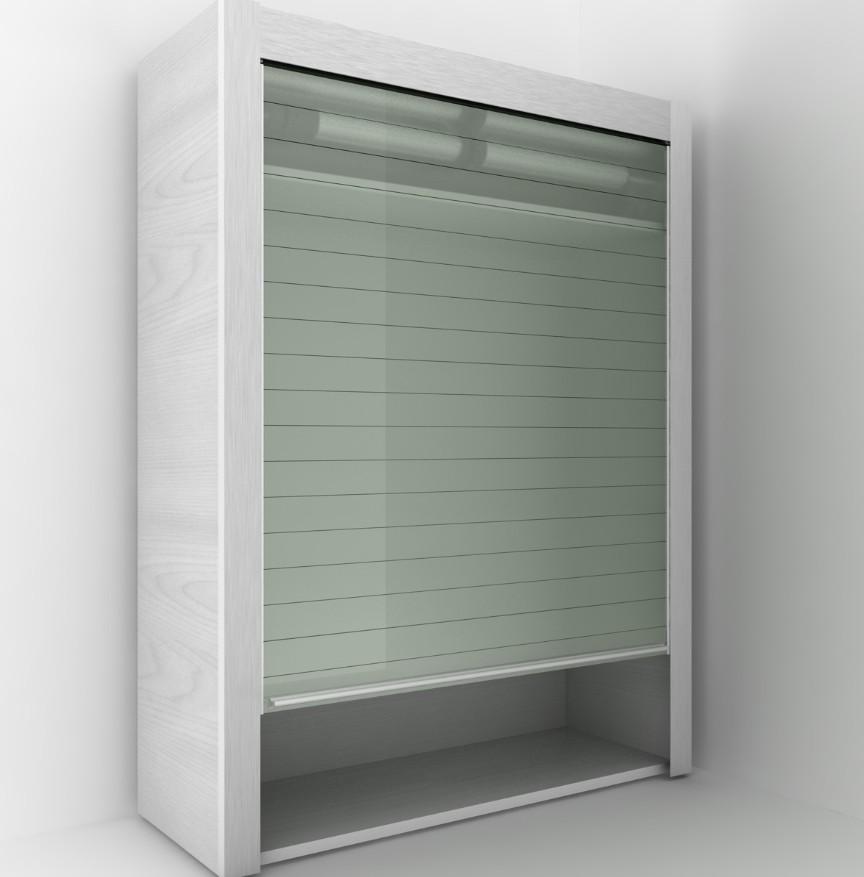 Cabinet Door Glass Door Glass Roller Shutter Buy Kitchen Cabinet
