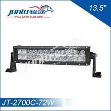 Juntu Curv beam 3w diode dual row 13.5inch 12v 72w led cars curved light bar