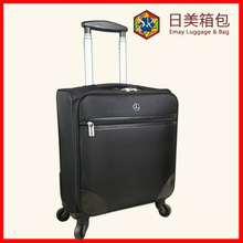 2015 New Design 1680D 4 Wheels Carry on Laptop Trolley Case