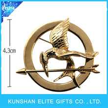 Hot Sale The Hunger Games Lapel Pin/ Bird Brooches Factory
