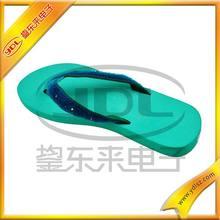 Pretty LED flashing module girl slipper