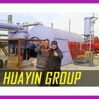 HUAYIN BRAND china tyre recycling pyrolysis plant