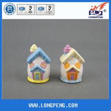 Cute House Ceramic Salt and Pepper Shakers