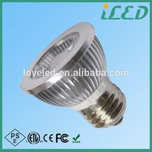 LED display case lighting E27 COB led spotlights 220V white 4000k 5W ETL CE approved