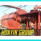 HUAYIN BRAND pyrolysis oil to diesel refining machine