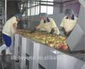 frutas de rodillos de la máquina de clasificación