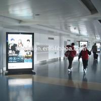 Aluminium alloy scrolling LED advertising billboard rectangle light box