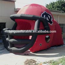 inflatable helmet/inflatable camping tent/inflatable football helmet tunnel