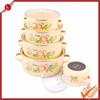 Cream enamel excellent houseware happy call swiss diamond cookware