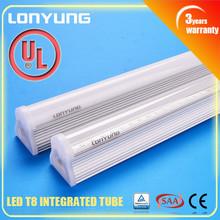 High Efficient T8 Led Tube Light integral tube 1.5m 22w light t8 led ring light