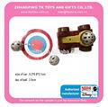 2015 promoção brinquedo launcher, emissor com bola e alvo