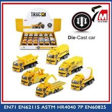 New gift free wheels mini slide metal toy truck